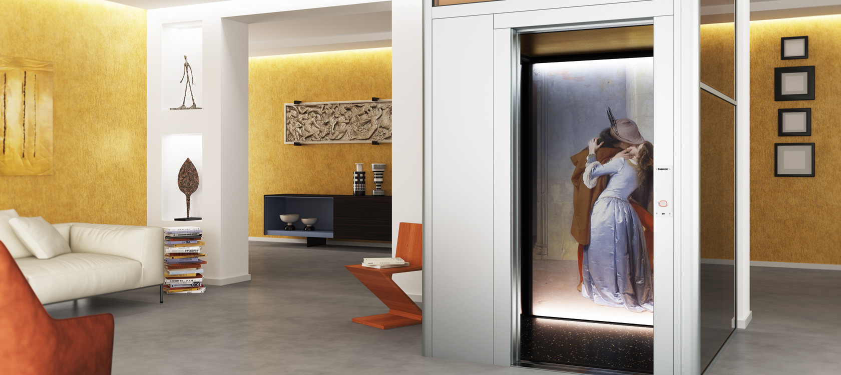 Our custom home elevators are tailored upon your needs for Custom home elevator
