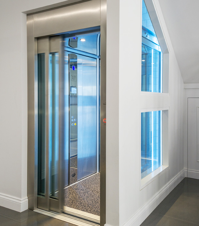 Home Elevator With Automatic Doors Domuslift